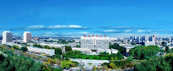 北京林业大学全景图